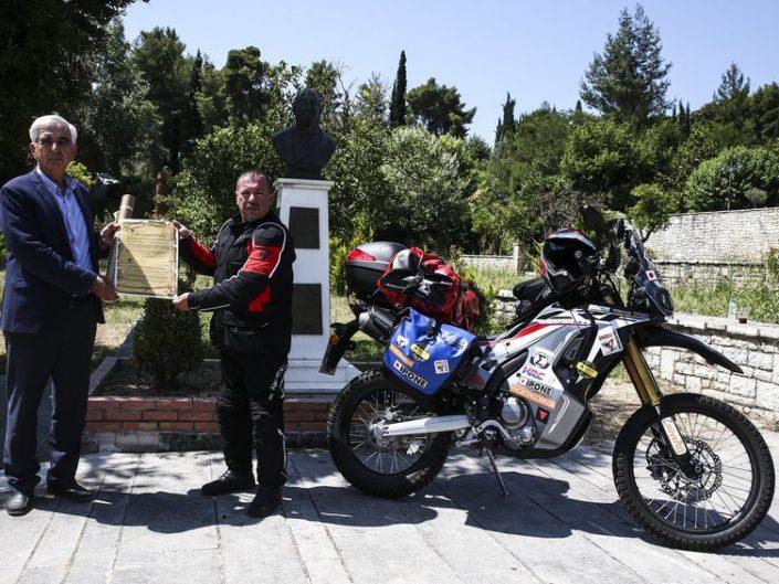 Δρόμος Ειρήνης 2018: Αρχαία Ολυμπία - Χιροσίμα με Honda CRF 250 Rally